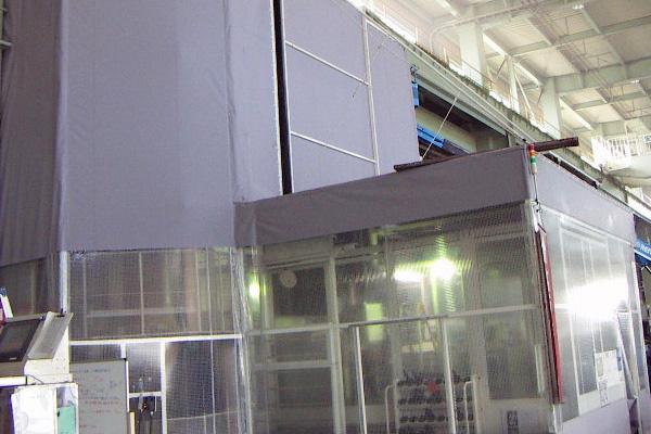 空調用可動式シートブース 空調対策専用