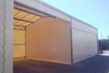 テント倉庫・上屋テント一体型